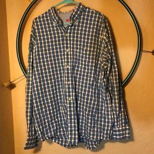 IZOD Mens' Button Up Flannel